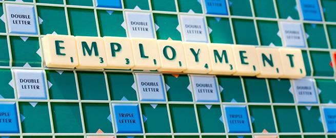 Scrabble Photograph Employment Letters